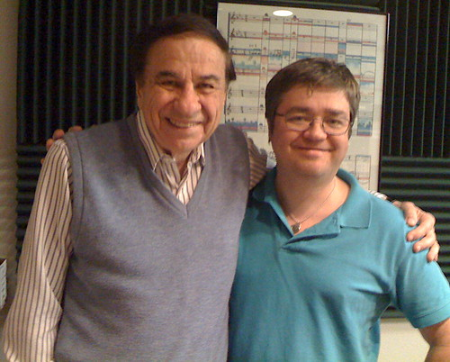 Richard M. Sherman and me!  It's supercalifragilisticexpialidocious!