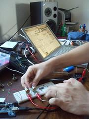arduino sa PD istrzivanje za vrijeme residens programa