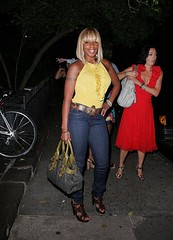 mary j blige chilling