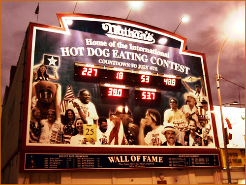 Nathan's Hot Dog Eating Contest Countdown