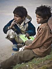 Childhood Lost (Aditya Rao.) Tags: newyear dharamshala 2007 mcleodgunj rewari