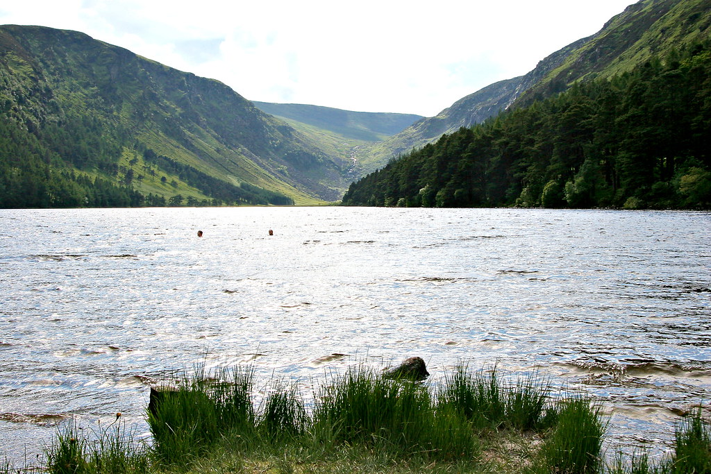 swimming in glendalough