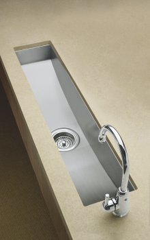 Kohler Undercounter Trough Kitchen Sink