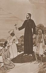 Predigt des hl. Franz Xaver in Indien