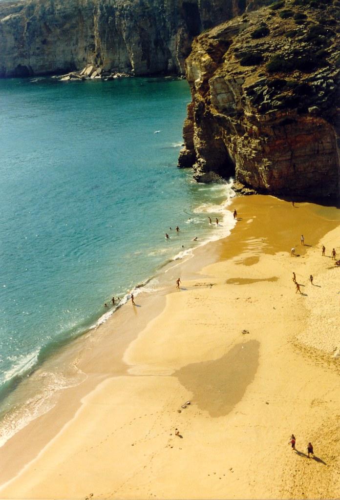Praia do Beliche, Agosto de 1988