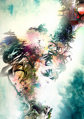 (Rhox.inK) Tags: storm abstract art texture collage angel contrast photoshop fly 3d wings cg distorted grunge flames explosion free ali harmony caos colourful confusion arcobaleno acceso tempesta fiamme contrasto vortice grezzo bagliore anawesomeshot biancoblu ninspired