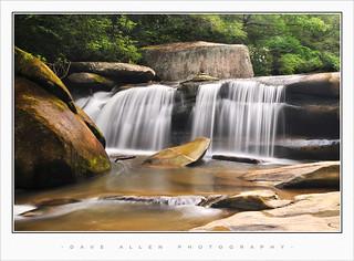 WNC Waterfall Landscape - Geometry