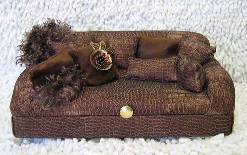 Brown Sofa Box
