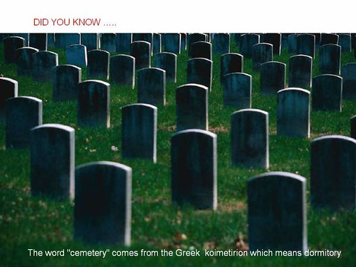 interesting facts cemetery