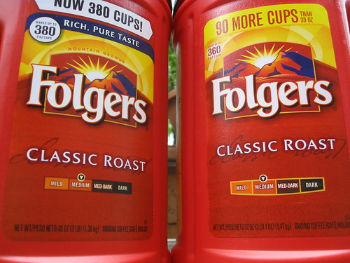 Folgers Shrink Ray Main Shot