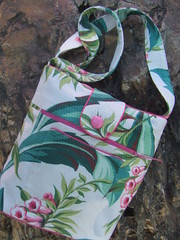 way too slow these days.... (PineBlossoms by Jennifer) Tags: bags remake repurposed drapery barkcloth pineblossoms