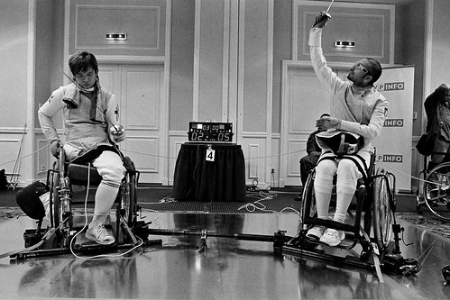 Wheelchair Fencing World Cup 2008