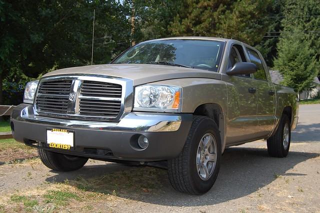 truck pickup dodge dakota 2007