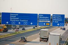 A5 Autobahn near FRA (mbell1975) Tags: road germany deutschland highway europe frankfurt autobahn german freeway flughafen a5 fra germay