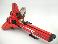 Ferrari Viper quarter (Lego Monster) Tags: fighter space ferrari viper battlestargalactica