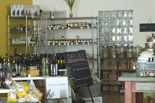 Paste Display at Sarasota Olive Oil Co.