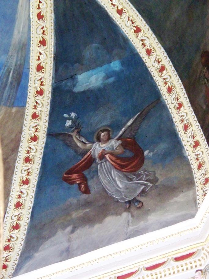 Interior de la Iglesia de San Miguel del Milagro