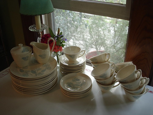 my new/old dishes