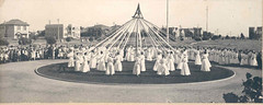 Vintage photo of Maypole in San Diego