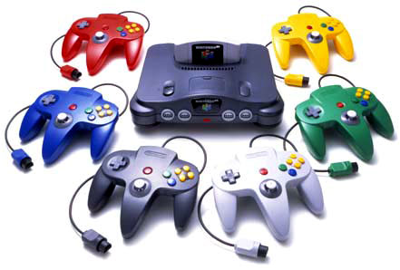 N64 With Controllers