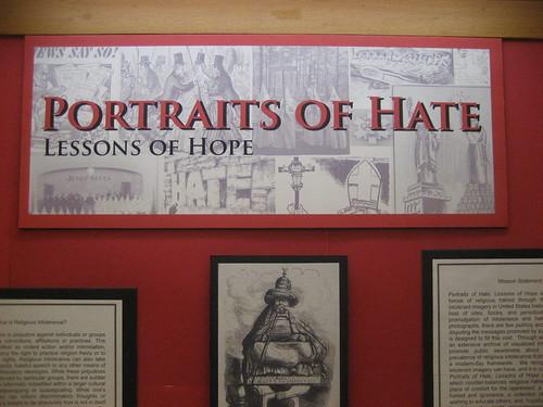 Religious Intolerance exhibit