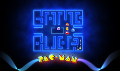 Pac-Man:GameOver (Pixel Fantasy) Tags: game logo lights glow arcade retro pacman maze ghosts
