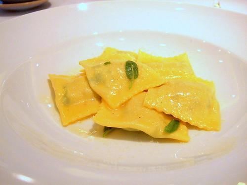 Murano Swiss chard tortelli