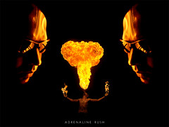 Adrenaline Rush (Bennington.) Tags: fire adrenalinerush