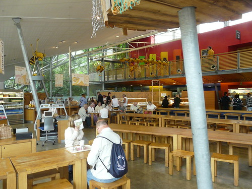 The Eden Project Cafe
