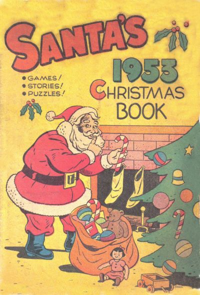 santas1953christmasbook
