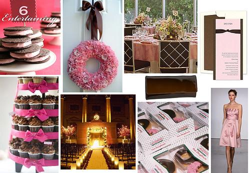 2849023899 9b9abafd7f d Baú de ideias: Decoração de casamento rosa e marrom I