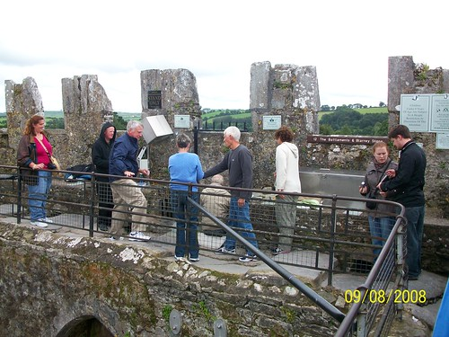 Ireland - Blarney Castle - the site of the Blarney Stone - about as close as a personal camera is allowed