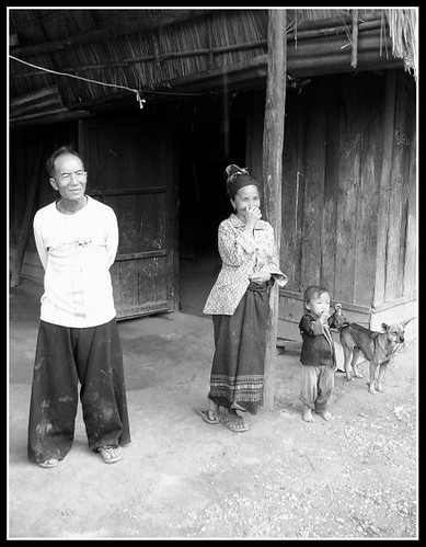 A Lao Mountain Family