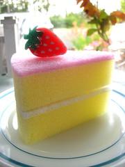 Sponge Worthy (Happy Zombie) Tags: cute cake japanese sponge daiso spongeworthy