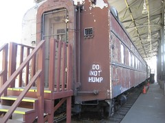 An unusual instruction on this train. (09/19/2008)