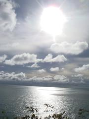 Koh Lanta Sun and Sea (crystoforo) Tags: sun reflection water thailand seaside sony cybershot kohlanta digitalcamera sonycybershot top36 megapixels top50 topfavorite topphotos