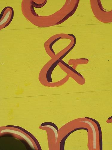 yellow ampersand 1