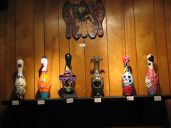 Art Bowling Pins