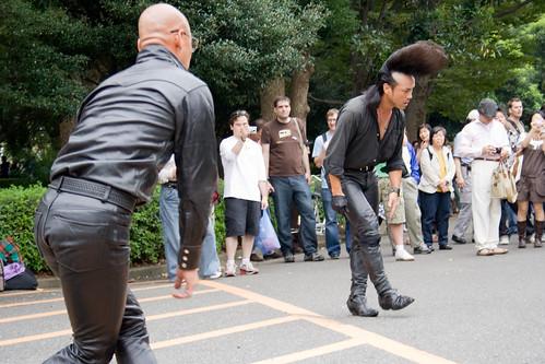Danseurs de rockabilly près de Harajuku