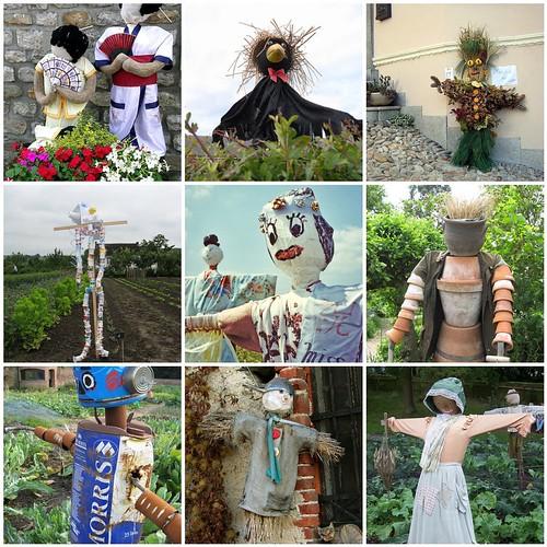 kidmade scarecrow inspiration