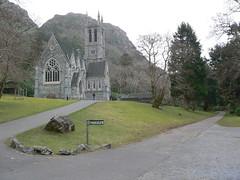 The Church at Kylemore Abbey
