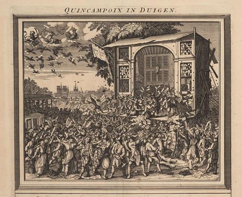 004-Destruccion de la calle  Qinquampoix en Paris