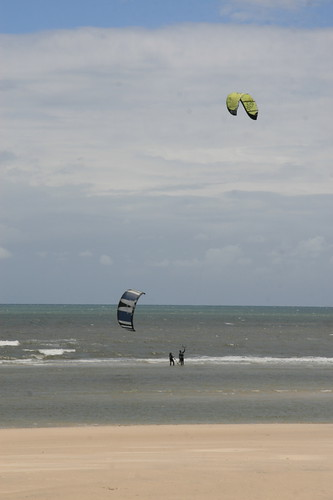 Kite surfer at Semaphore