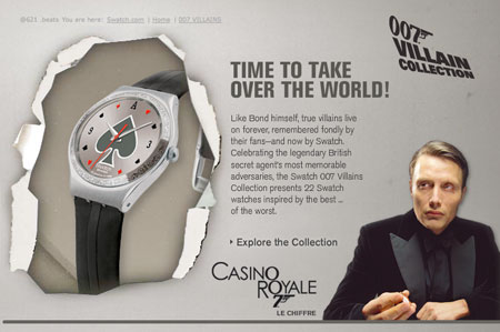 Bond Villain Swatch Watch Collection 3123222455_be87042fa2_o
