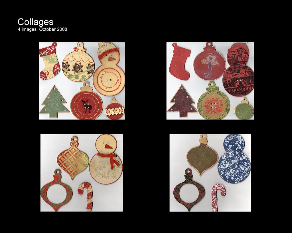 Chipboard Ornaments