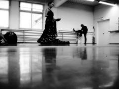 ensayo nmero 2 (Ana Yacobi) Tags: blancoynegro flamenco pars