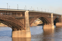 Eads Bridge (simplysheila) Tags: stlouis eadsbridge archbridge oldbridge