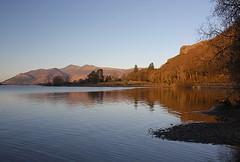 Derwent Water (judepics) Tags: uk lake reflections lakedistrict cumbria derwentwater pfogold flickrestrellas