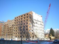Convent Hill Demolition