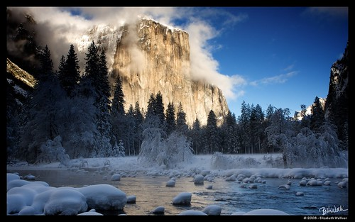 El Capitan over Merced River